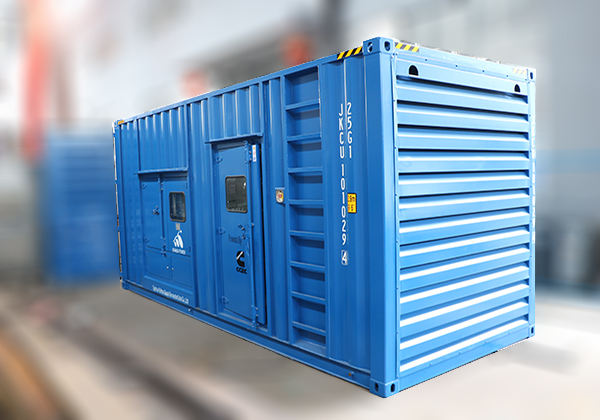 集裝箱(xiang)式發電機組